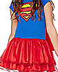 Kids Caped Supergirl Dress Costume - DC Comics