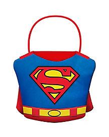 Plush Superman Treat Bucket