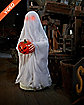 2.5 Ft Bump and Go Ghost Animatronics - Decorations
