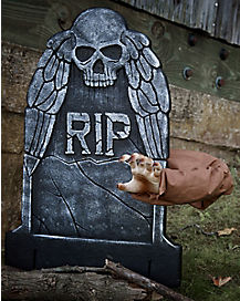 19 Inch Reaching Arm Tombstone Animatronics - Decorations