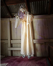 5 Ft Floating Ghost Girl Animatronics - Decorations