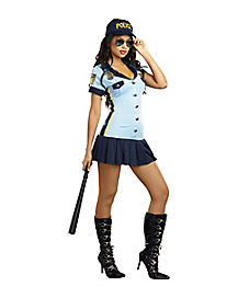 Adult Sexy Officer Costume