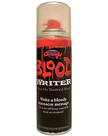 Spray-On Theatrical Blood