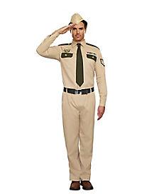 Adult Military Costume