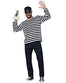 Adult Burglar Plus Size Costume