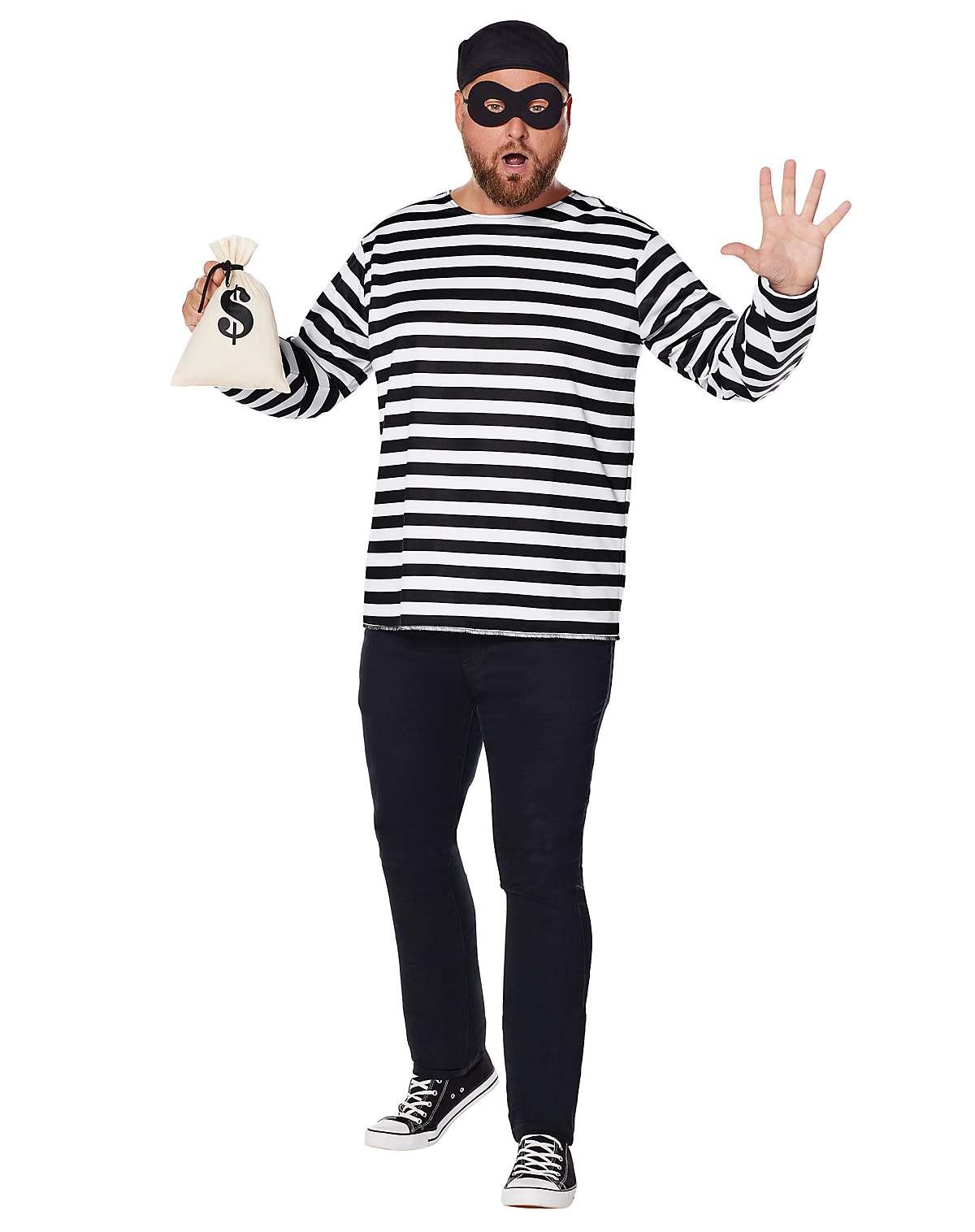 Burglar plus size costume