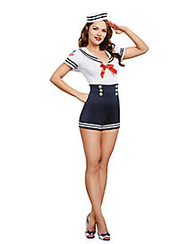 Adult Seafaring in Style Sailor Costume