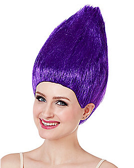 Purple Pointed Wig