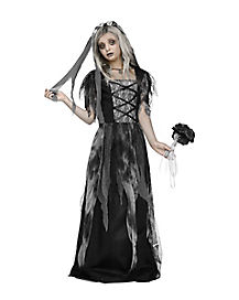 Kids Cemetery Bride Costume