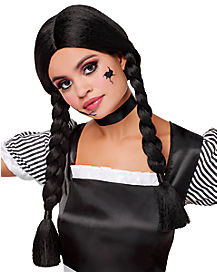 Braided Black Wig