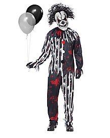 Adult Freakshow Clown Costume
