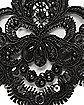 Black Lace Wristlet