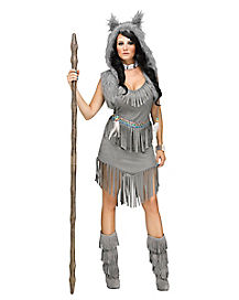 Adult Wolf Dress Costume