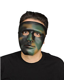 Camo Hero Face Mask