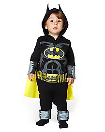 Baby Coverall Batman Costume - DC Comics
