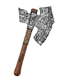 Foam Jagged Axe