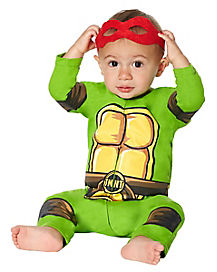 Baby Teenage Mutant Ninja Turtles One Piece - TMNT
