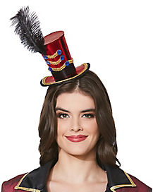 Mini Ringmaster Hat Headband