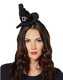 Witch Mini Hat Fascinator