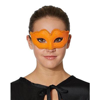 Orange Venetian Mask
