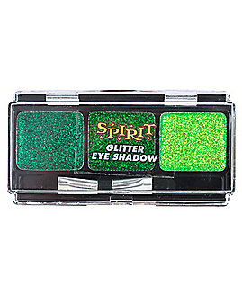 Green Glitter Eyeshadow