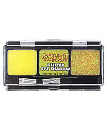 Yellow Glitter Eyeshadow