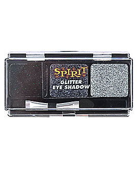 Black Glitter Eye Shadow