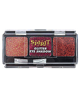Red Glitter Eye Shadow Set