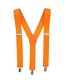 Orange Suspenders
