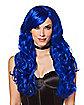 Blue Curls Wig
