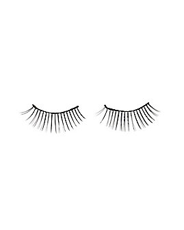 Black and White Faux Eyelashes