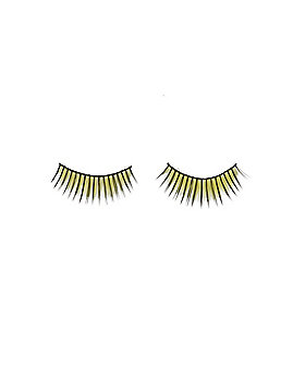 Yellow Faux Eyelashes