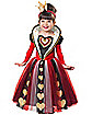 Toddler Queen of Hearts Costume