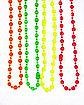 4pk Neon Beads