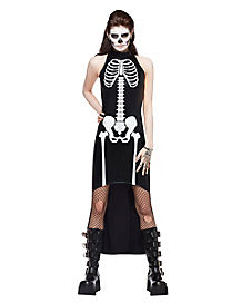 Adult Sinful Skeleton Costume