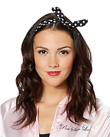 50's Polka Dot Wire Headband