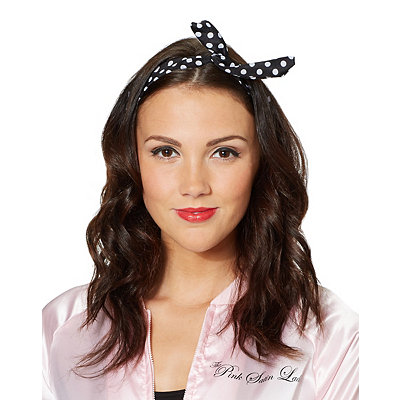 1950s Costumes 50s Polka Dot Wire Headband $6.99 AT vintagedancer.com