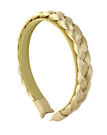 Kids Blonde Braid Headband