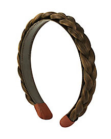 Kids Brunette Braid Headband