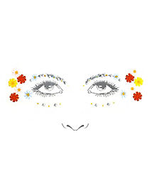 60s Flower Face Decal