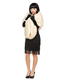 Adult Faux Fur Stole