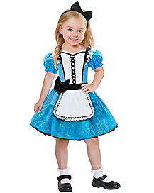Toddler Alice in Wonderland Costume