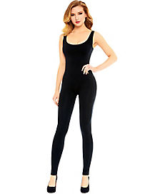 Black Seamless Catsuit