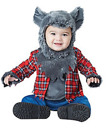Baby Faux Fur Wittle Werewolf Costume