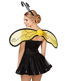 Bumble Bee Wing and Headband Set