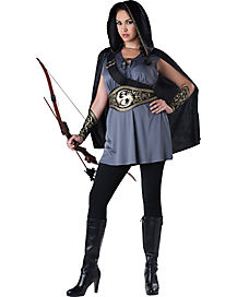 Adult Huntress Plus Size Costume