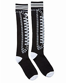 Faux Show Knee Socks