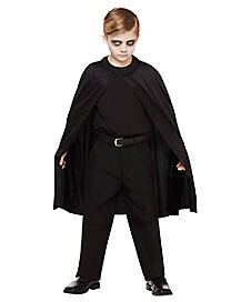 Kids Black Cape