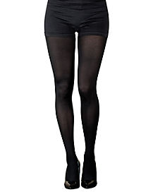 Adult Opaque Black Tights