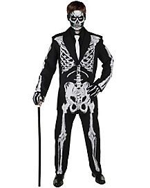 Kids Bone Daddy Suit Costume